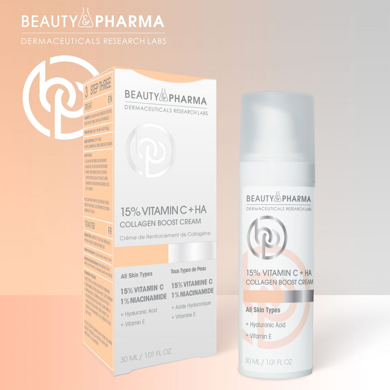 15% Vitamin C + HA Collagen Boost Cream