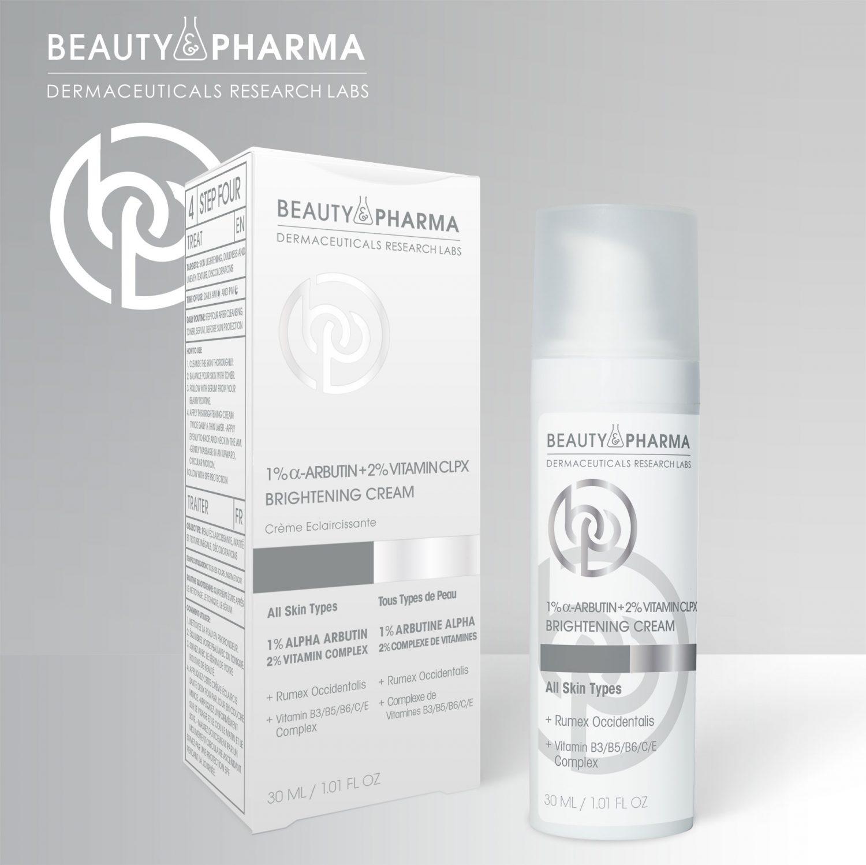 1% α-Arbutin + 2% Vitamin CLPX Brightening Cream
